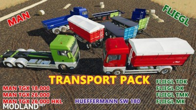 Transport Pack v 1.0.2, 1 photo
