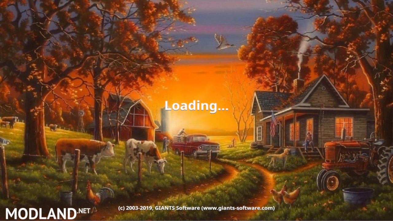 FS 19 AUTUMN FARM MENU BACKGROUND