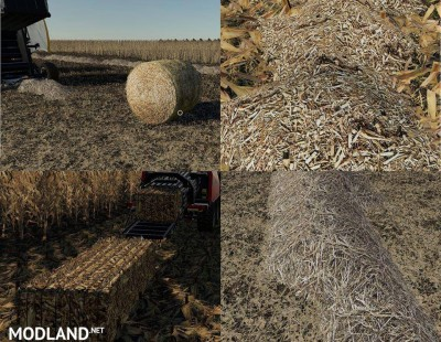 Corn & Soybean Straw Bales v 1.0, 1 photo