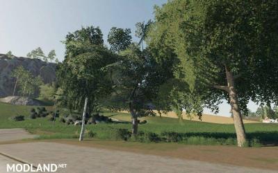 DARK TREES & BUSH TEXTURES v 1.0