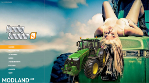 JOHN DEERE GIRL 3 EDITION MENU BACKGROUND, 2 photo