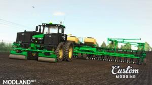 John Deere 8R V2.0 with Lankota Stalk Stompers Rollers and 360 Yield Center Tank