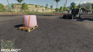 BAMF Empty Pallet with Straps v1.1 (Collison fix) - Direct Download image