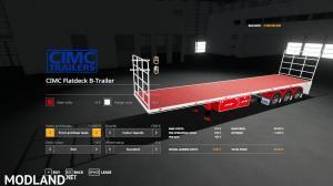 CIMC Flatdeck Trailer Pack v 1.1, 2 photo