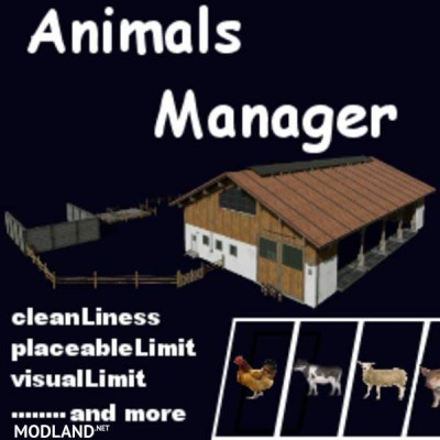 AnimalsManager v 0.3 BETA