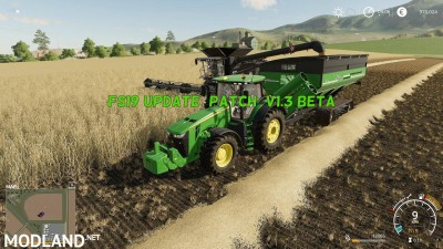 FS 19 Update (Patch) v 1.3 BETA