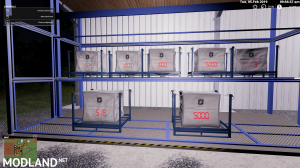 Update Pallets/Tanks with Digital Fill Level Indicator
