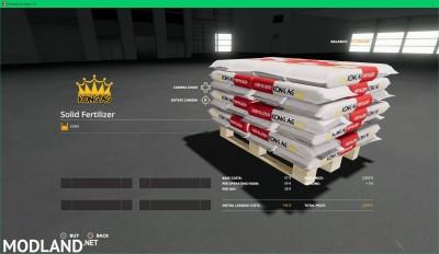 Kong Ag Fertilizer Pallet v 1.0.2, 1 photo