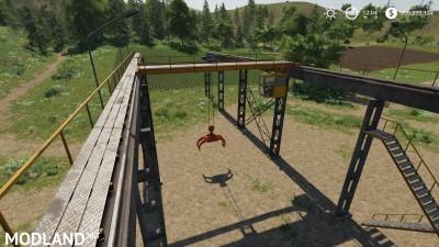 Working Rail Crane v 1.0
