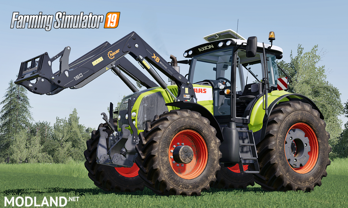 Claas Axion 800 Series(First generation)