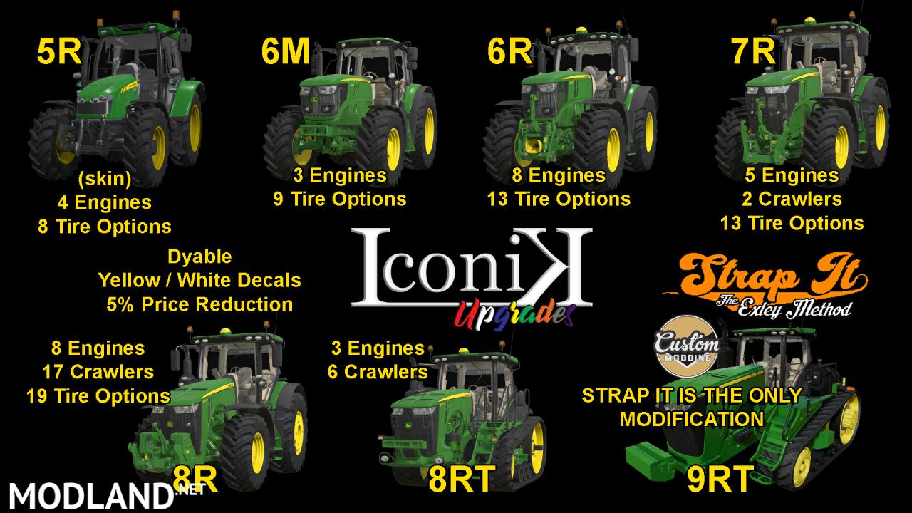 Iconik JD Tractors