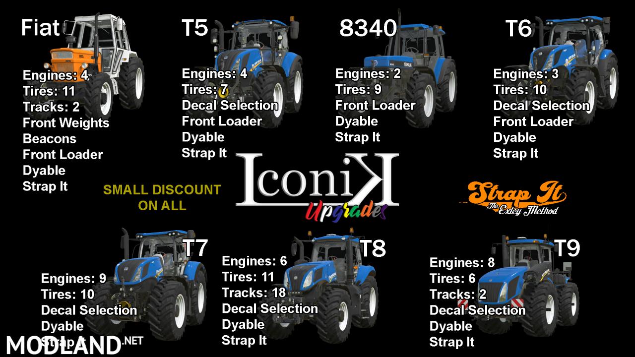 Iconik New Holland Tractors