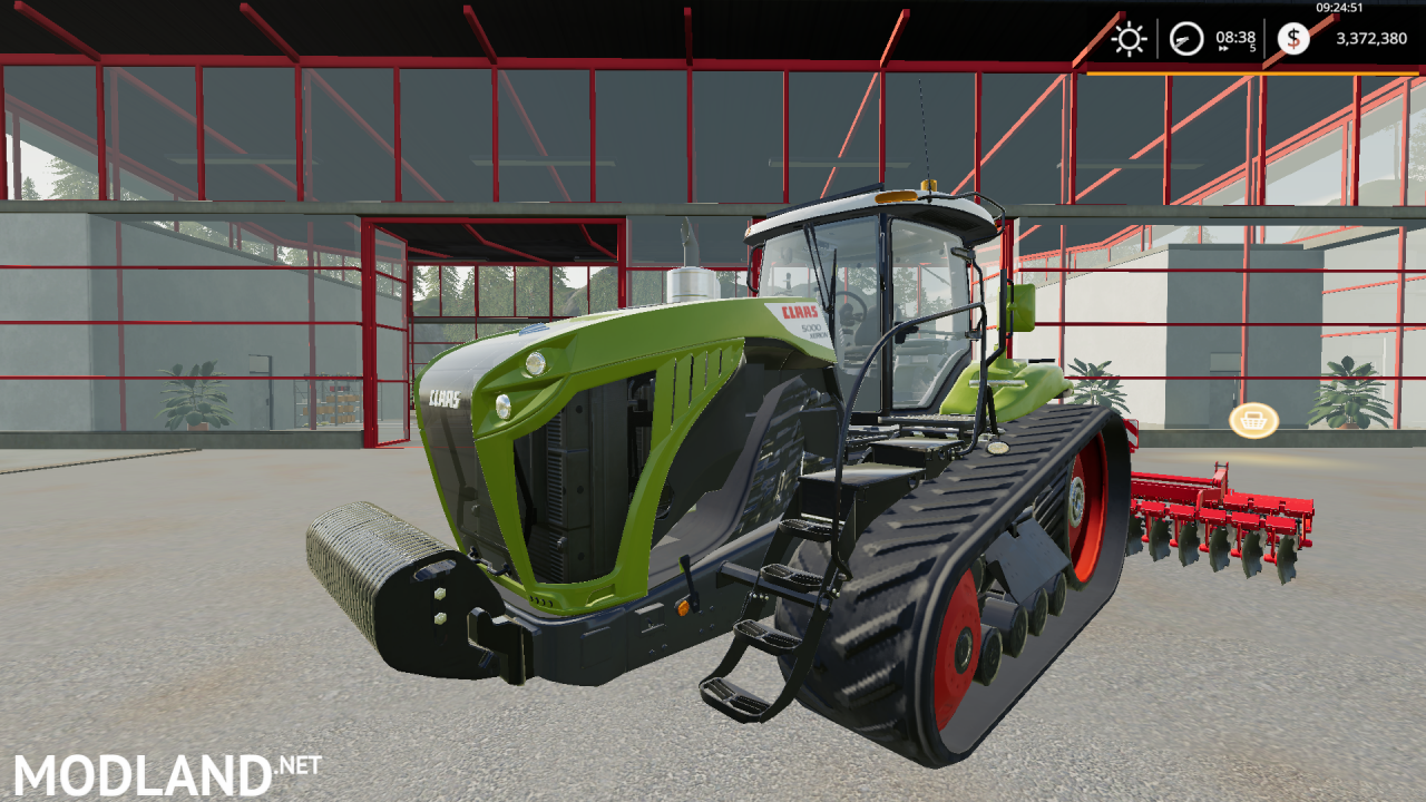 CLAAS Challenger 55 Crawler Tractor