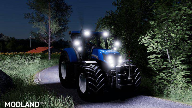 New Holland T7 update