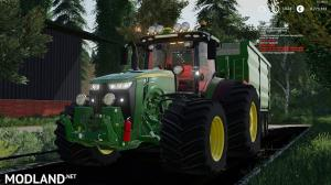 John deere 8r by JHHG modding and Laursen's modding team, 2 photo