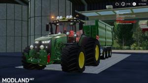 John deere 8r by JHHG modding and Laursen's modding team, 1 photo