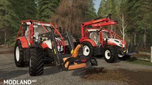 [FBM Team] Steyr Profi CVT with forest configuration, 6 photo