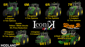Iconik JD Tractors