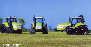 CLAAS Challenger 55 Crawler Tractor V2.5, 4 photo