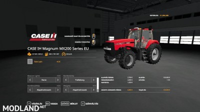 CASE IH Magnum MX200 Series EU v 1.0