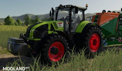 CLAAS Axion 900 by Smety (CMT)