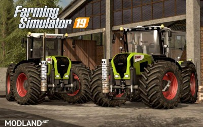 Claas Xerion 3300/3800 v 2.0, 1 photo