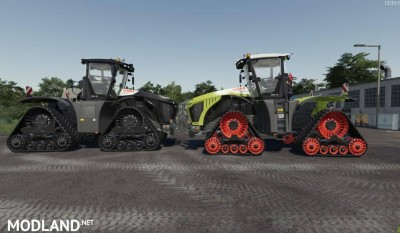 Claas Xerion 4000-5000 TeraTrac v 1.0, 1 photo