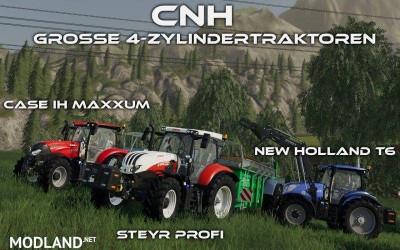 CNH – Grosse 4-Zylindertraktoren v 1.0