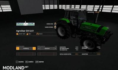 Deutz Fahr Agrostar DX 61 UPDATE v 1.0, 3 photo