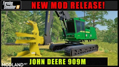 FDR Logging - John Deere 909M v 1.0, 2 photo
