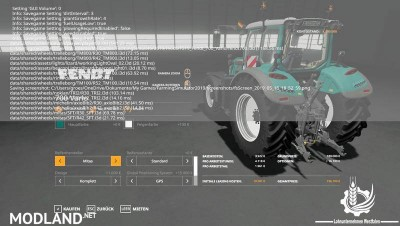 Fendt 700 Vario By Contractor Westfalen LS19 v 1.0, 3 photo