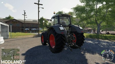 Fendt 900 Black Edition v 1.0, 3 photo