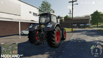 Fendt 900 Black Edition v 1.0, 4 photo