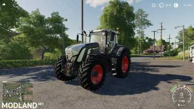 Fendt 900 Black Edition v 1.0, 1 photo