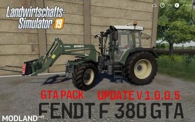 Fendt F 380GTA MegaPack v 1.0.5, 1 photo