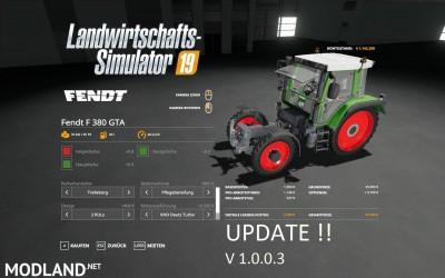 Fendt F 380GTA v 1.0.3
