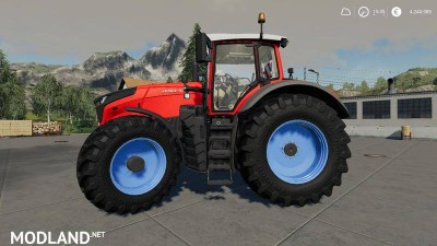Fendt Vario 1000 Nerd MP Blau v 1.2, 1 photo