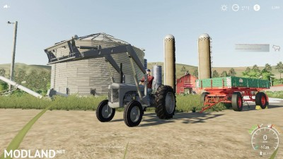Ferguson Tea20 diesel and loader v 1.0
