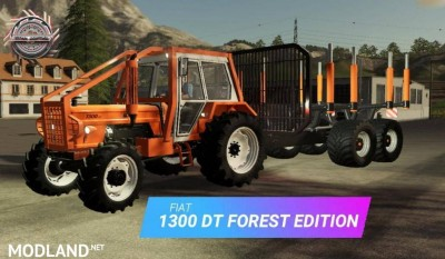 FIAT 1300DT Forestier v 1.0, 2 photo