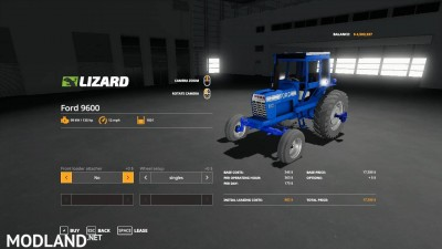 Ford 9600 cabbed beta, 5 photo