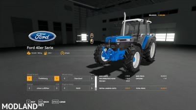 FS19 Ford 40er Series v 1.3, 8 photo