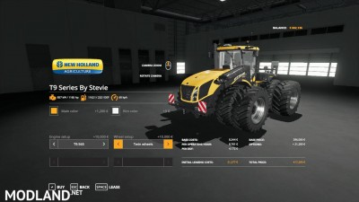 FS19 New Holland T9 Series by Stevie, 2 photo