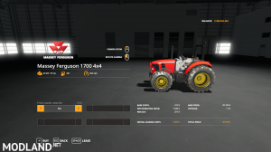 FS19 MF 1700 4x4, 2 photo