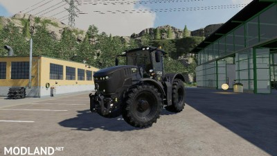 JCB FASTRAC 8330 BLACK WARRIOR v 1.0
