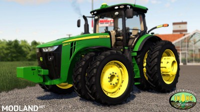 John Deere 2016-2018 8R Series Row Crop v 1.0 - External Download image