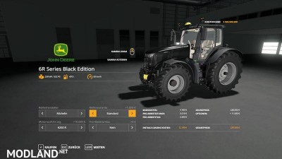 John Deere 6R Black Edition v 1.0.9, 10 photo