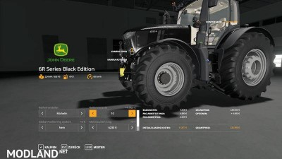 John Deere 6R Black Edition v 1.0.9, 4 photo