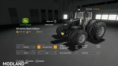 John Deere 6R Black Edition v 1.0.9, 6 photo