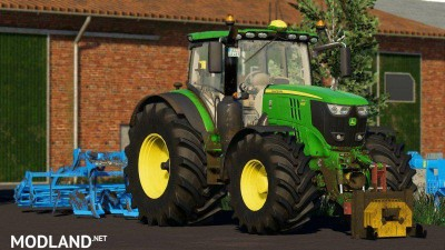 John Deere 6R Pack by 6195rpower official, 2 photo