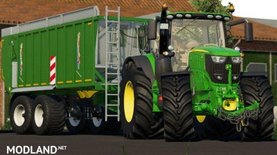 John Deere 6R Pack by 6195rpower official, 3 photo